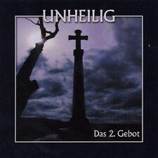 CD*UNHEILIG**DAS 2. GEBOT (RE-RELEASE)***NAGELNEU & OVP!!!