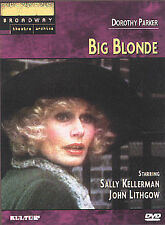 BIG BLONDE Broadway Theatre Archive DVD Sally Kellerman John Lithgow NEW