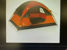 ALPHA CAMP Camping Dome Tent Waterproof Outdoor Tarp Shelter 3 PERSON ORANGE