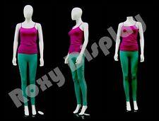 Female Unbreakable Plastic Mannequin Display EggHead Dress Form Ps-Sf6Weg