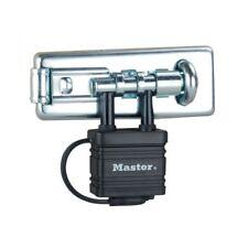 Masterlock 471D Perno Cerrojo Con Candado Puerta Cobertizo de seguridad 40mm integrado B37