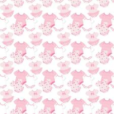 8 PINK BABY GIRL PASTEL BACKING PAPERS  FOR CARD AND SCRAPBOOK MAKING S2