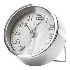Kikkerland Mini Silver Alarm Clock Ac11-S