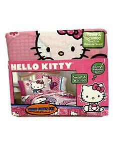 HELLO KITTY SWEET & SCENTED HIGH TEA Twin Bed Set Sanrio RARE NIP NEW