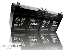 (2) Casil 12v 35ah for Hoveround ALL MODELS Replacement Battery