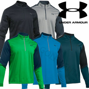 Under Armour Elements CGI Mens 1/2 Zip Windproof Pullover Sweater - 1281272