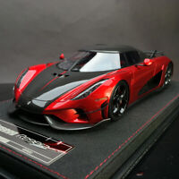 Limited Frontiart Avan Style Koenigsegg Regera Red Car Model Collection 1:18 New