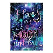 Love U To The Moon Full Drill 5D Art Diamond Painting DIY Cross Stitch Kit Gift