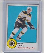 12-13 2012-13 O-PEE-CHEE MAXIME SAUVE RETRO ROOKIE 553 BOSTON BRUINS
