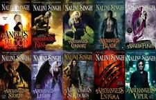 The Guild Hunter Series Paperback Collection Set Books 1-10 by Nalini Singh New