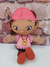 "Izzy Jake and The Neverland Pirates 10"" Plush Doll Disney Jr Fisher Price"