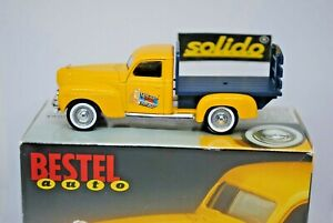 Solido 1:43 DODGE 1940 Pickup Truck Vehicle in BESTEL AUTO Box Special Promotion