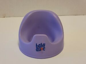 Hasbro Baby Alive Purple Potty Doll Seat Chair only (Magnet / Magnetic)