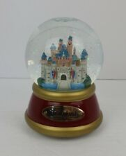 "Disney Cinderella Castle ""When You Wish Upon A Star"" Musical Snow Globe"