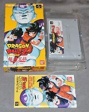 DRAGON BALL Z CHOU GOKUDEN 2 - SUPER FAMICOM NES IMPORT JAPAN