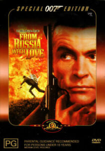 From Russia With Love (DVD, 2001, R4) - Used Good Condition -