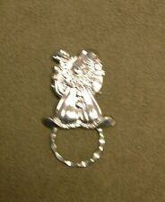 Small Clown Silver Spec Pin