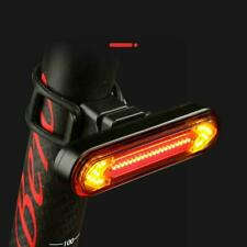 Rechargeable Bicycle Bike Tail Light Turn Signal Lights Wireless Remote Control