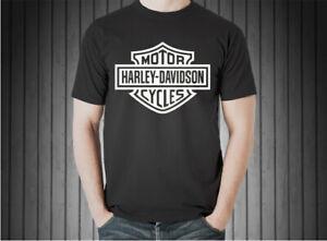 T-Shirt maglia Harley Davidson Motor  Biker Moto Rider idea regalo  100% COTONE