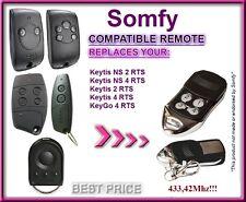 SOMFY KEYGO 4 RTS Compatible Télécommande 433,42Mhz
