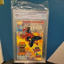 Amazing Spider-Man #425 CBCS 9.8 Wraparound cover X-men and Electro appearance.