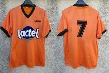 Maillot STADE LAVALLOIS LAVAL n°7 vintage LACTEL shirt maglia collection TANGO L