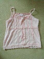 Girls Pretty Pink MONSOON Vest  / Sleeveless Top Age 6 Years