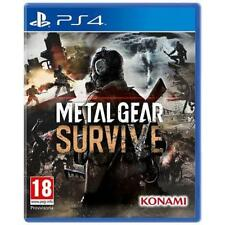 VIDEOGIOCO METAL GEAR SURVIVE PS4 GIOCO PLAY STATION 4 ITALIANO DAY ONE NUOVO