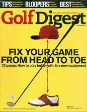 1998 Golf Digest Magazine: Fix Your Game From Head to Toe/New Equipment/Bloopers
