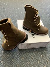 Brand New Men's Logger Boots Leather Climate X Welt Rugged Work Motorcycle Biker