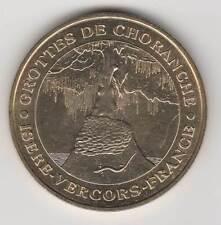 -- 2001 MEDAILLE JETON MONNAIE DE PARIS -- 38 680 GROTTES DE CHORANCHE