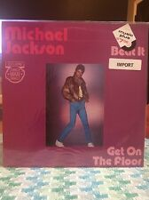 Michael Jackson - Beat It/Get On The Floor * Epic Pop Maxi Single Holland NM