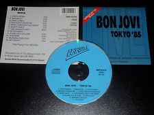 Bon Jovi Live 7800 Fahrenheit Tour, Tokyo Japan,1985 Very Rare German Import CD