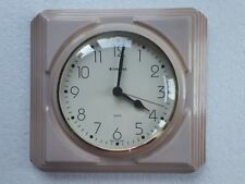 Vintage Retro Pop Art style 1960s Ceramic Kitchen Wall clock JUNGHANS