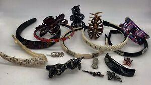 90's 00's Glittery Sparkle VSCO Baroque Headbands Hair Accessories Clip Barrette