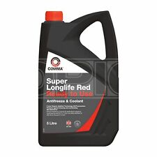 Comma Super Longlife Red Antifreeze / Coolant - Ready To Use (SLC5L) - 5 Litres