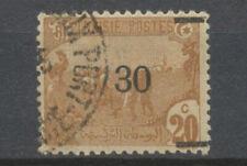 VARIETE TUNISIE N°98b 30c sur 20c Barre seule au lieu de 2 barres. Signé. P5036