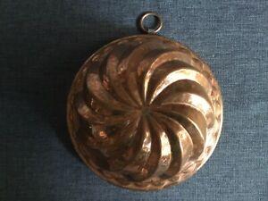 Alte Backform Kupfer