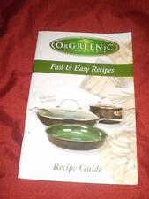 OrGreeniC Kitchenware Fast & Easy Recipe Guide