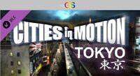 Cities in Motion: Tokyo DLC Steam Key Digital Download PC [Global]