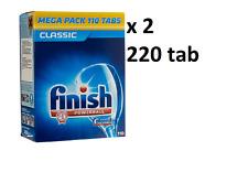 Finish Powerball Dishwashing Tablets 110x2 BULK BUY!! BARGAIN!!