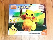 Mega Construx Pokemon Jumbo Pikachu! Brand New in box! SOLD OUT