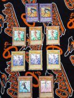 Yugioh Cyber Blader unlimited edition super rare EEN plus bonus