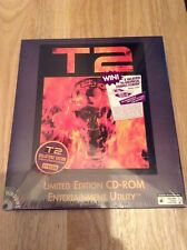 Terminator 2 T2 For Computer - Pc CD-ROM - Limited Edition
