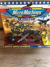 Military Micro Machines World War 2 #20 1995 Classics Die-cast Military New