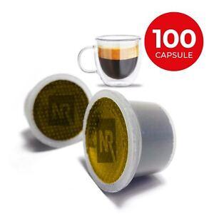 100 Cialde Capsule 100% caffe compatibili UNO SYSTEM caffè gusto PURO ARABICA