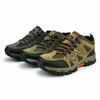 Mens Hiking Shoes Outdoor Trail Trekking Sneakers Breathable Climbing Shoes size