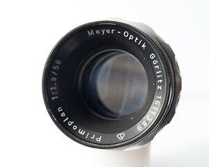 Meyer-Optik Görlitz Primoplan f1.9 58mm M42 EXC- READ Please!