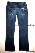 HUDSON JEANS Juniors 24 x 28 Triangle Pocket BOOTCUT Stretch Weiss Wash  $176