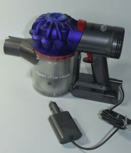 Dyson V7 Car Boat 0.5L Handheld Vacuum Purple with Charger No Accessories